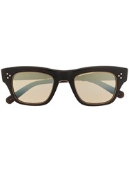Garrett Leight Light Tinted Sunglasses Brown