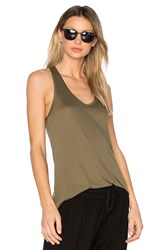 Twenty The Perfect Racerback Tank Green