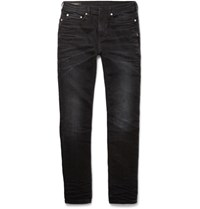 Neil Barrett Skinny Fit Washed Denim Jeans Gray