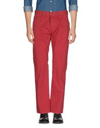Bugatti Casual Pants Brick Red
