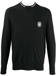 Neil Barrett Logo Plaque Jumper 60