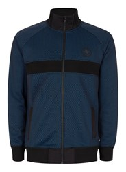 Converse Black And Blue Dot Track Top