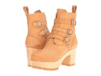 Swedish Hasbeens Buckle Boot Nature Women's Boots Neutral