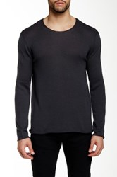 Autumn Cashmere Rollneck Cashmere Blend Sweater Gray