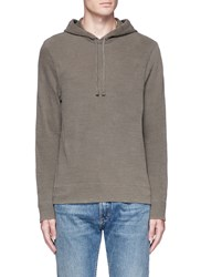 James Perse French Terry Hoodie Grey