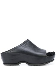 Rosetta Getty Open Toe Platoform Clogs 60