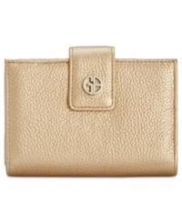 Giani Bernini Softy Leather Wallet Only At Macy's Bronze