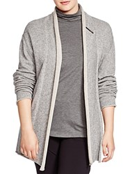 Marina Rinaldi Plus Master Shawl Collar Cardigan Grey