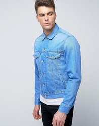 Pepe Jeans Denim Jacket Sky Blue Dip Wash N69