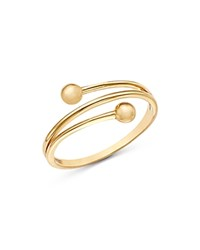 Moon And Meadow Beaded Band Ring In 14K Yellow Gold 100 Exclusive