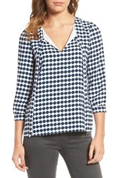 Cooper And Ella Women's Valentine Tie Front Blouse