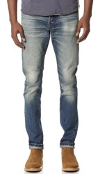 Earnest Sewn Bryant Slouchy Slim Jeans Canal