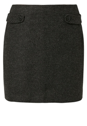 Opus Rabea Mini Skirt Carbon Anthracite