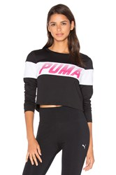 Puma Speed Font Long Sleeve Top Black