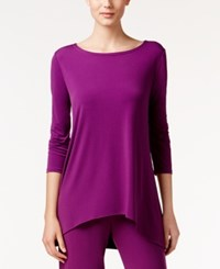 Alfani Jersey High Low Tunic Only At Macy's Iris Glow