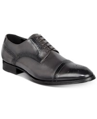 Tallia Men's Bonito Cap Toe Oxfords Men's Shoes Grey