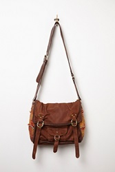 Free People Florence Leather Messenger