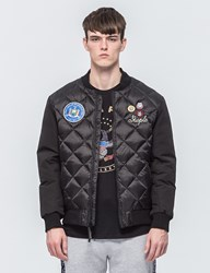 Staple Patch Bomber Jacket