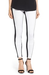 Women's Hue 'Illusion' Colorblock Ponte Leggings