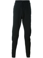 Lost And Found Rooms Drawstring Slim Fit Trousers Black