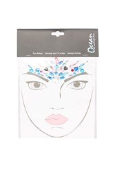 Topshop Jewel Crown Face Stickers Multi