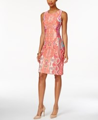 Charter Club Paisley Print Sheath Dress Only At Macy's Summer Reef