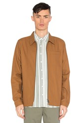 Native Youth Hemmick Jacket Burnt Orange