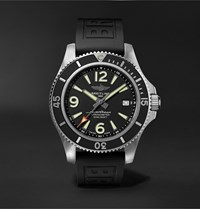 Breitling Superocean Automatic Chronometer 42Mm Stainless Steel And Rubber Watch Ref. No. A17366021b1s2 Black