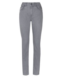 Jaeger Skinny Mid Rise Jeans Grey