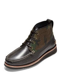 Cole Haan Pinch Rugged Leather Chukka Boots Multi