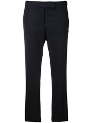 Thom Browne Skinny Fit Wool Trouser Blue