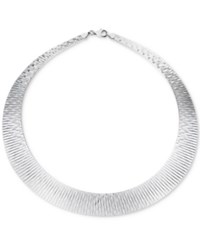 Giani Bernini Wide Collar Necklace In Sterling Silver Only At Macy's