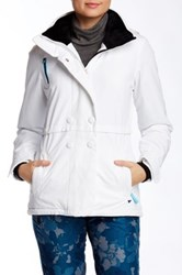 Obermeyer Brigitte Jacket White