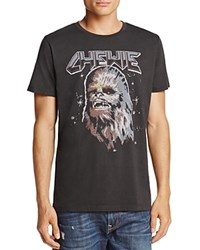 Junk Food Chewie Crewneck Short Sleeve Tee Black
