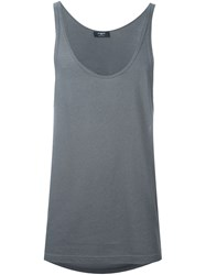 Ports 1961 Scoop Neck Vest Grey
