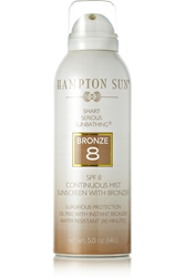 Hampton Sun Spf8 Continuous Mist Sunscreen With Bronzer