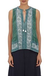 Sea Women's Floral Sleeveless Top Green