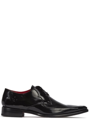 Jeffery West Harrison Black Leather Oxford Shoes