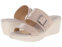 Naturalizer Aileen Foggy Grey Leather Women's Dress Sandals Gray