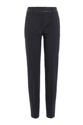 Hugo Virgon Wool Pants Blue