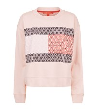 Tommy Hilfiger Daisy Flag Sweater Female Pink
