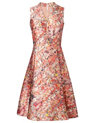 Lk Bennett L.K. Bennett Suze Ditsy Floral Print Full Skirt Dress Popsicle