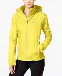 Columbia Switchback Ii Omni Shield Water Repellent Jacket Spring Yellow