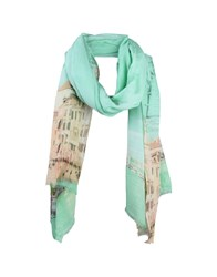 Marina D'este Scarves Light Green