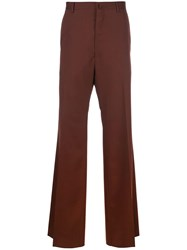 Lanvin Flared High Waisted Trousers