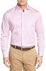 Men's Bobby Jones Classic Fit Long Sleeve Stripe Sport Shirt Blossom