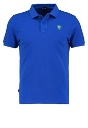 Blauer Polo Shirt Blue