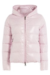Duvetica Down Jacket With Hood Rose