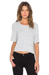 Hye Park And Lune Olive Crop Top Grey