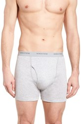 Nordstrom Shop 3 Pack Supima Cotton Boxer Briefs Grey